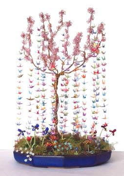 Miniature Origami Cranes Tiny Gestures - photo#16